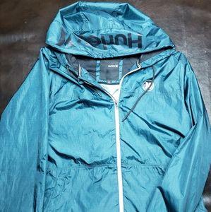 Hurley Windbreaker Jacket Mens Large